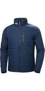 2019 Helly Hansen Mens Crew Insulator Jacket Graphite Blue 54344