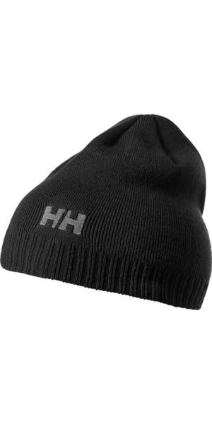 2018 Helly Hansen Brand Beanie in Black 57502