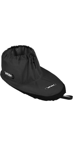 2018 Yak Kayak Kyu Fabric Deck Black 6167