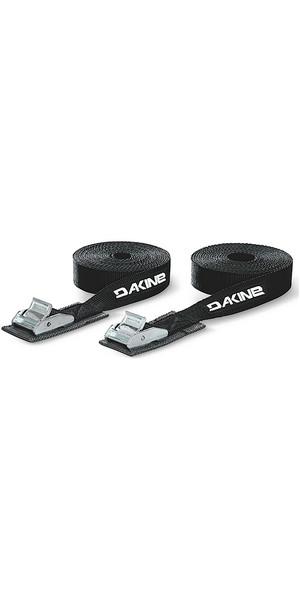 2018 Dakine 12' 3.6m Tie Down Straps BLACK 08840550