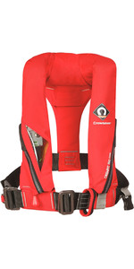 2020 Crewsaver Crewfit 150N Junior Lifejacket Auto With Harness Red 9005RA