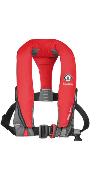 2019 Crewsaver Crewfit 165N Sport Automatic With Harness Lifejacket Red 9015RA