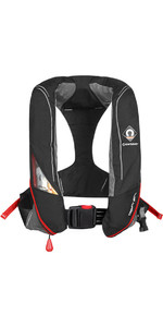 2020 Crewsaver Crewfit 180N Pro Automatic Lifejacket Black / Red 9020BRA