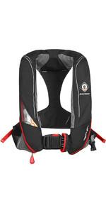 2019 Crewsaver Crewfit 180N Pro Manual Lifejacket Black / Red 9020BRM