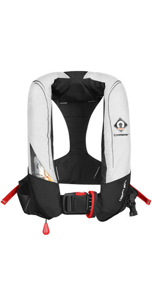2018 Crewsaver Crewfit 180N Pro Automatic Lifejacket White / Red 9020WRA