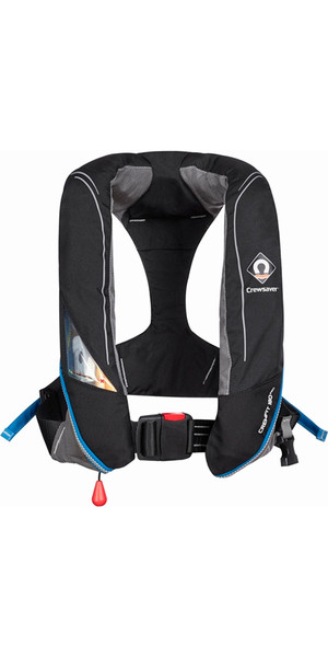 2018 Crewsaver Crewfit 180N Pro Automatic Black Lifejacket 9020BKA