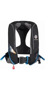 2018 Crewsaver Crewfit 180N Pro Automatic With Harness Lifejacket Black 9025BKA
