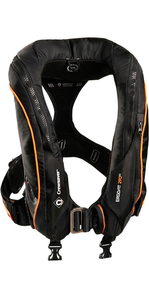 2018 Crewsaver Ergofit 290N Ocean Hammar Lifejacket + Harness + Light +Hood 9135BKHP