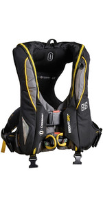 2020 Crewsaver ErgoFit 290N Extreme Auto Lifejacket With Harness light + hood 9145-BKAP