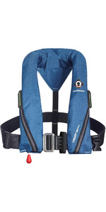 2021 Crewsaver Crewfit 165N Sport Automatic Harness Lifejacket 9715BA - Blue