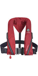 2020 Crewsaver Crewfit 165N Sport Automatic Harness Lifejacket 9715RA - Red