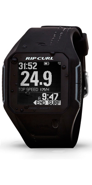 2018 Rip Curl Search GPS Smart Surf Watch in BLACK A1111