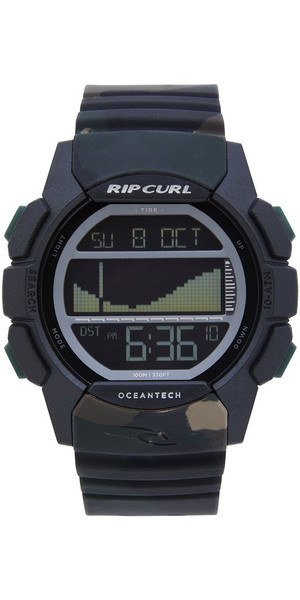 2019 Rip Curl Drifter Tide Watch Jungle Camo A1134