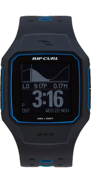 2018 Rip Curl Search GPS Series 2 Smart Surf Watch Blue A1144