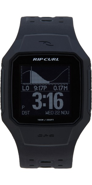 2018 Rip Curl Search GPS Series 2 Smart Surf Watch Black A1144