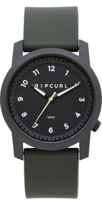 2019 Rip Curl Cambridge Silicone Watch Military Green A3088