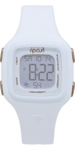 2019 Rip Curl Womens Candy2 Digital Silicone Watch White A3126G