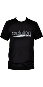 Billabong Mens Solution Tee in BLACK A4AS02