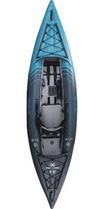 2021 Aquaglide Chelan 120 HB 1 Person Inflatable Kayak - Blue