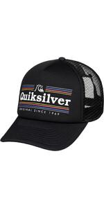 2019 Quiksilver Jetty Crocker Hat Black AQYHA04443