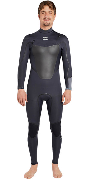 2018 Billabong Absolute X 5/4mm Chest Zip Wetsuit ASPHALT F45M20