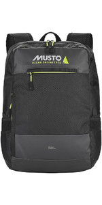 2020 Musto Essential Backpack 25L Black AUBL220