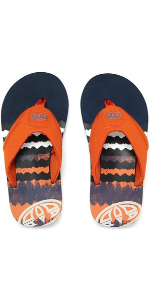 2018 Animal Junior Boys Jekyl logo Flip Flops DARK NAVY FM8SN600