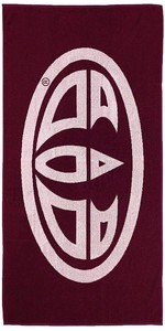 2019 Animal Flynn Beach Towel Merlot OW8WN308