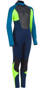2020 Animal Junior Lava 5/4/3mm Back Zip Wetsuit AW0SS601 - Dark Navy