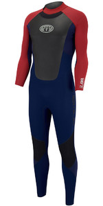 Animal Lava 4/3mm GBS Back Zip Wetsuit Dark Navy AW8SN104
