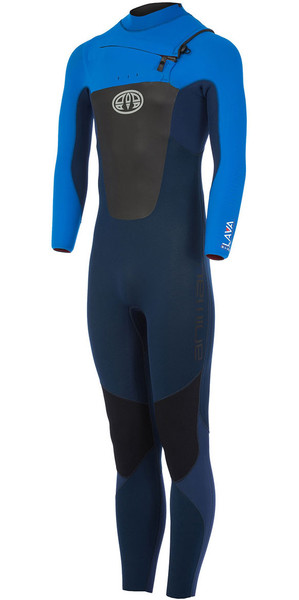2018 Animal Lava 5/4/3mm GBS Chest Zip Wetsuit Dark Navy AW7WL103