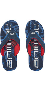 2019 Animal Mens Jekyl Logo Mens Flip Flops Dark Navy FM9SQ007