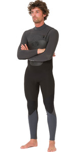 2019 Animal Mens Lava 5/4/3mm Chest Zip GBS Wetsuit Black AW9WQ004