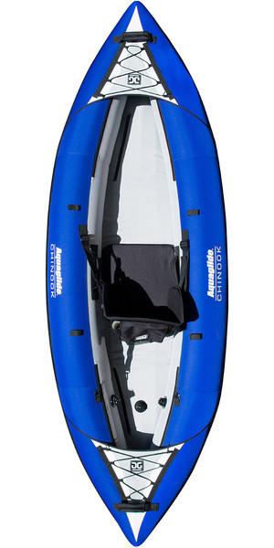 2018 Aquaglide Chinook 1 Man Kayak BLUE - Kayak Only