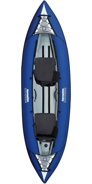 2019 Aquaglide Chinook 2 Man Kayak BLUE - Kayak Only