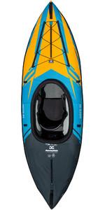 2021 Aquaglide Noyo 90 1 Person Inflatable Kayak - Blue