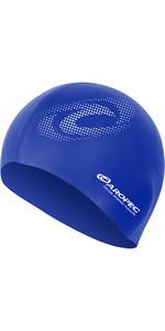 2019 Aropec Silicone Swim Cap Blue CAPGR1