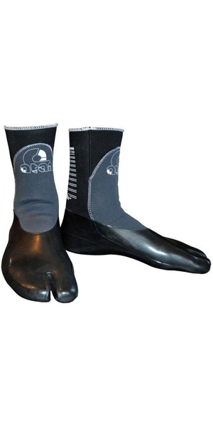 2018 Atan Madisson 3mm GBS Split Toe Wetsuit Boots Black