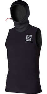 2019 Mystic Mens Bipoly Thermo Hooded Tank Top BLACK 140095