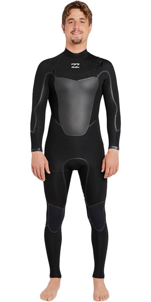 2018 Billabong Absolute X 5/4mm Chest Zip Steamer Wetsuit BLACK F45M20