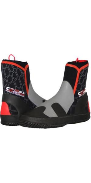 Gul Code Zero Pro 5mm wetsuit Boot in Black RED BO1278
