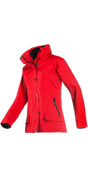 Baleno Dynamica Ladies Waterproof Jacket Red 21444