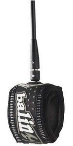 2021 Balin Super Series 7ft 7mm Double Swivel Leash 01S7K - Black