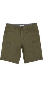 Billabong All Day Cargo Walk Shorts DARK OLIVE H1WK21