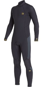 2020 Billabong Mens Absolute 4/3mm Back Zip GBS Wetsuit U44M59 - Antique Black