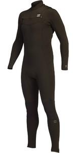 2021 Billabong Mens Absolute 3/2mm GBS Chest Zip Wetsuit Z43M16 - Black Hash