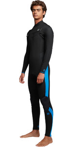 2019 Billabong Mens Furnace Absolute 5/4mm Chest Zip Wetsuit Blue Q45M09
