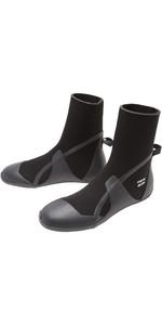 2021 Billabong Absolute 5mm Round Toe Wetsuit Boot Z4BT22 - Black Hash