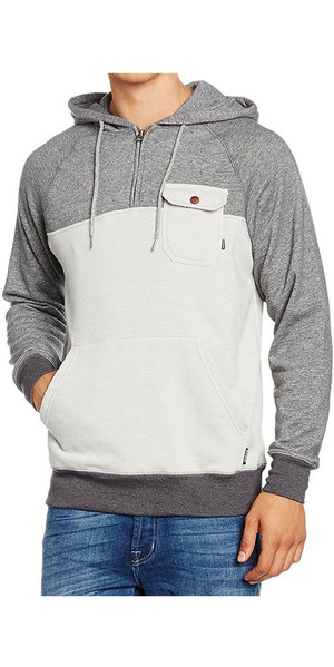 Billabong Balance Half Zip Hoody LIGHT GREY HEATHER Z1FL08