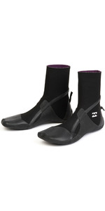 2019 Billabong Furnace Absolute 3mm Split Toe Boots Black Q4BT31